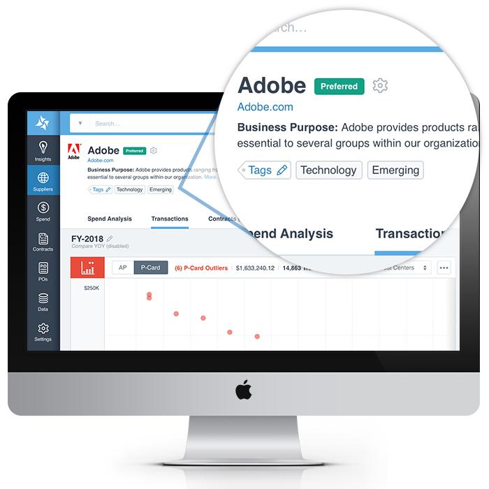 AI-driven supplier normalization for procurement