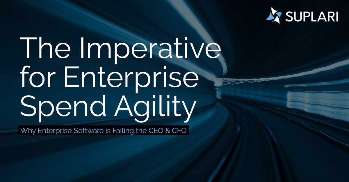 The Imperative for Enterprise Spend Agility