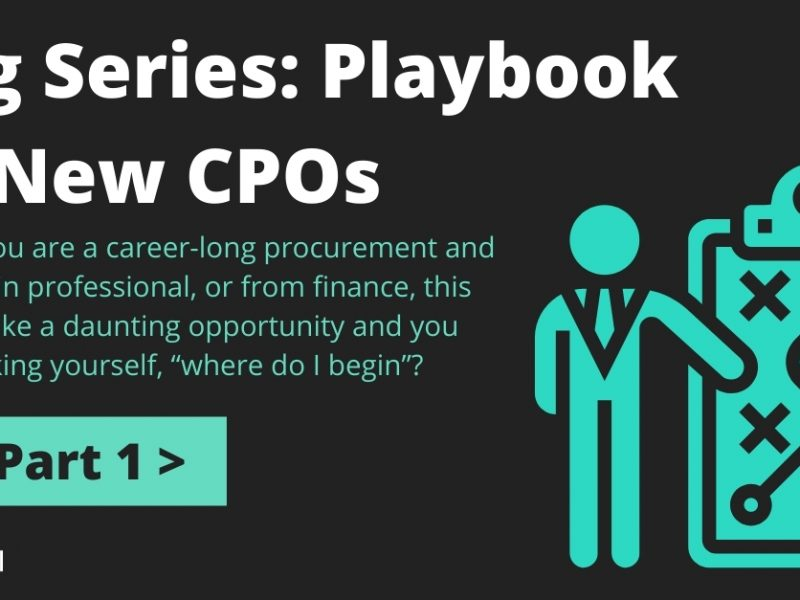Blog Series: Playbook for New CPOs – Part One