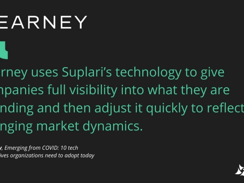 Kearney Includes Suplari in 10 Tech Imperatives Organizations Need to Adopt Today