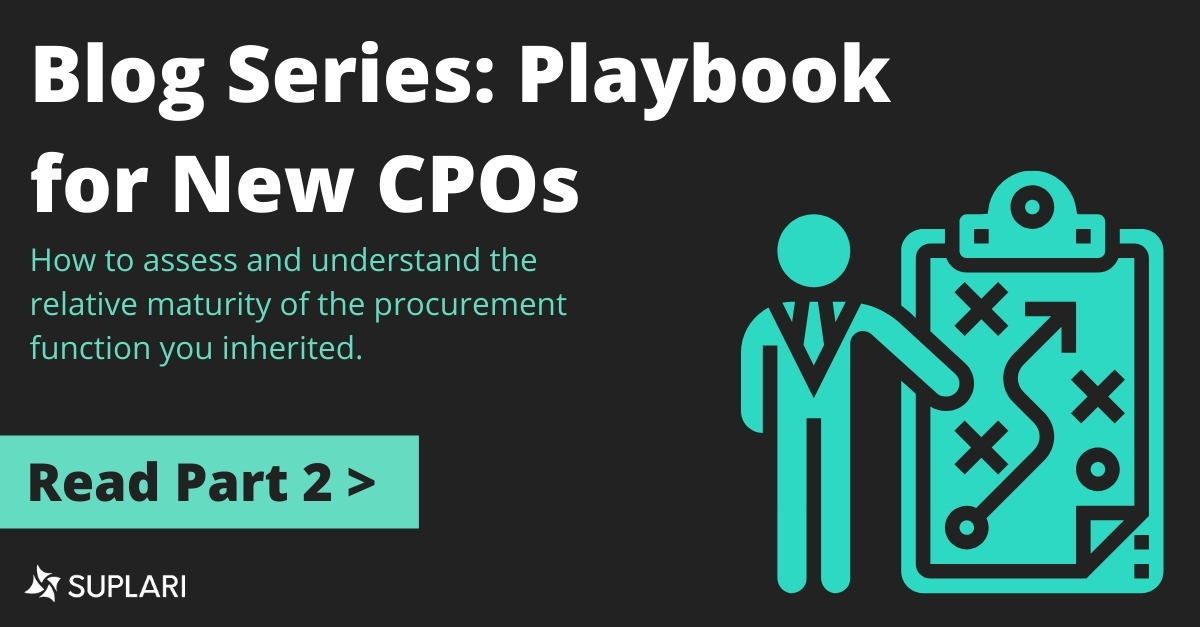 Blog Series: Playbook for New CPOs – Part Two