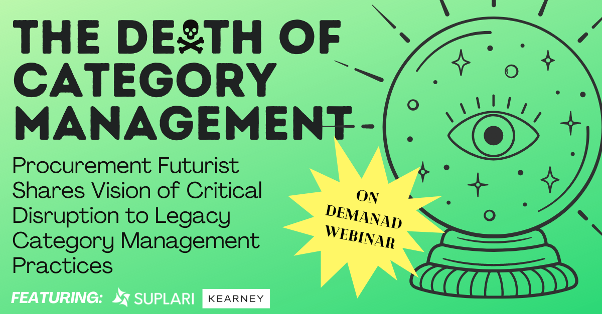 The Death of Category Management