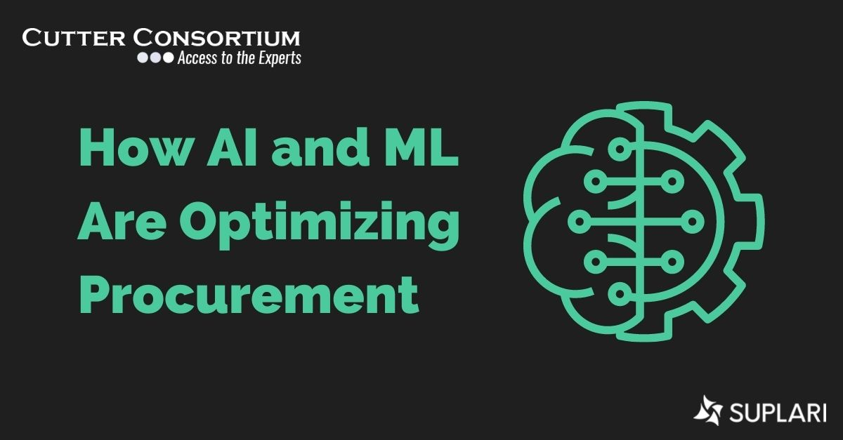 Cutter Consortium Includes Suplari in Analysis – How AI and ML Are Optimizing Procurement
