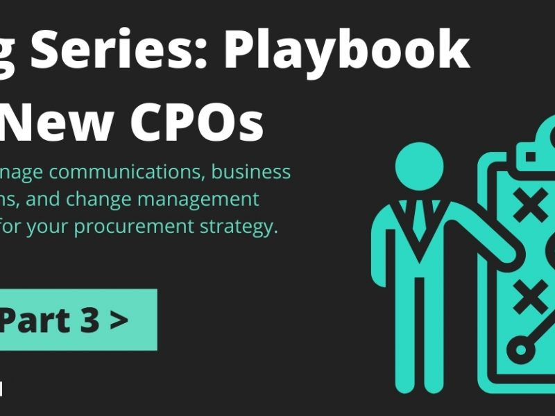 Series: I'm a New CPO; Now What? Part 3