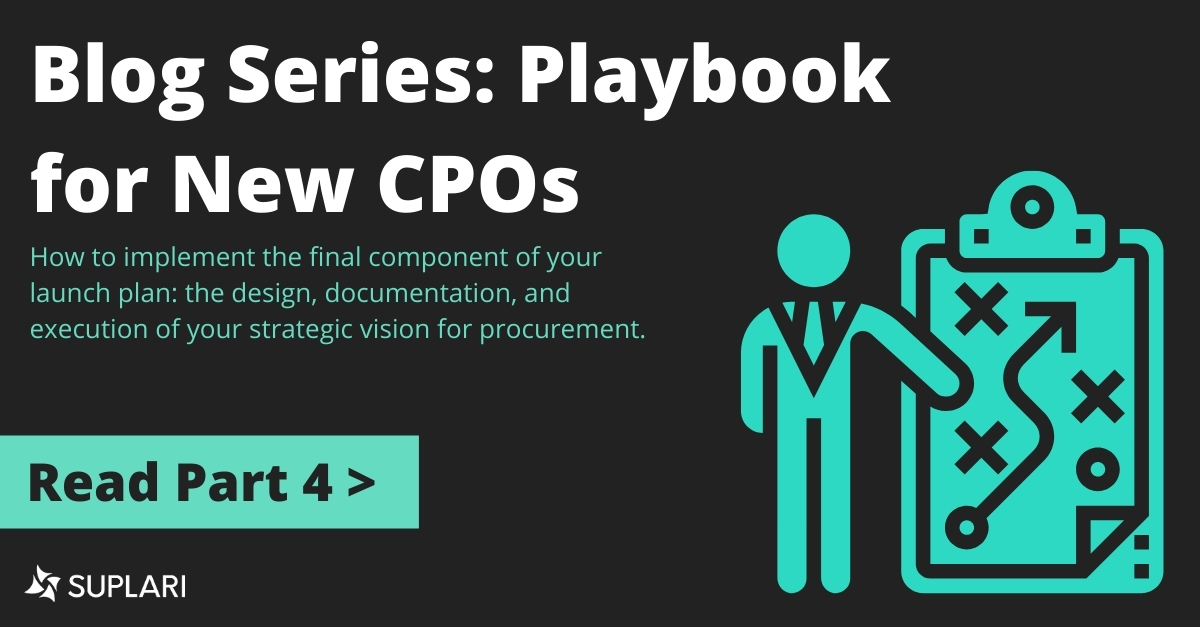 Series: I'm a  New CPO; Now What? Part 4