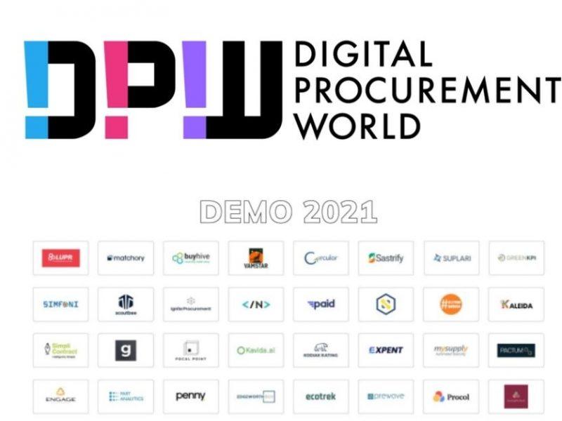 Digital Procurement World (DPW) Includes Suplari in list of Most Disruptive Startups for DEMO 2021